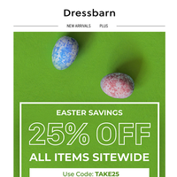 Easter Sale Ending Soon! Last Chance...