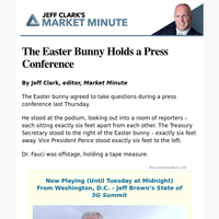The Easter Bunny Holds a Press Conference