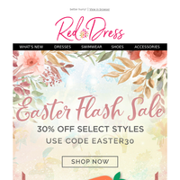 SURPRISE! Easter Sale Extended 🐰