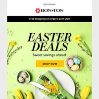 More Easter deals inside!
