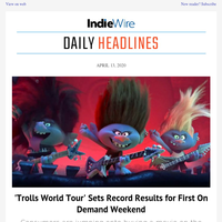 'Trolls' Breaks VOD Records; First Look at New 'Dune'; Why 'The Tiger King and I' Was a Mistake