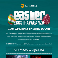 ENDING SOON! Egg-ceptional Easter Eggstravaganza deals last chance