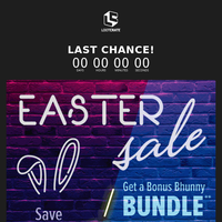 🐰Hop to it! You don't want to miss our Easter Sale!