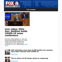 Live video: Ohio Gov. DeWine holds COVID-19 news conference