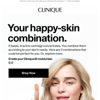 Which Clinique iD is yours?