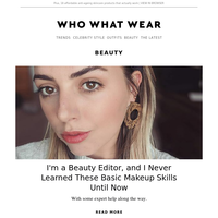 I'm a beauty editor, and I never learned these basic makeup skills until now