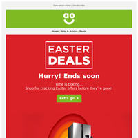 Catch these huge Easter savings before they're gone