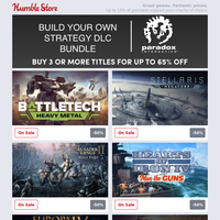 Build your own Paradox Strategy DLC Bundle for up to 65% off + Save big on Elite Dangerous and more from Frontier Developments this week!