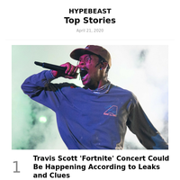 Your Weekly Round-Up: Travis Scott 'Fortnite' Concert Could Be Happening According to Leaks and Clues and More