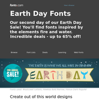 More Earth Day SALES!