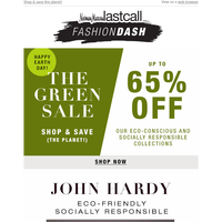 Up to 65% off eco-friendly items: Happy Earth Day!