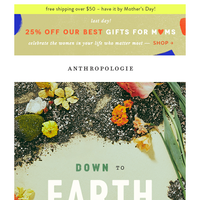 New! The Earth Day Edit