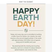 It's Earth Day today (and every day)