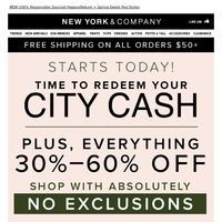 🌎 Celebrate Earth Day w/ 30%-60% Off + City Cash