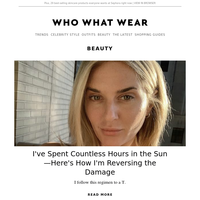 I've spent countless hours in the sun—here's how I'm reversing the damage