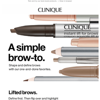 Brow-to inside.