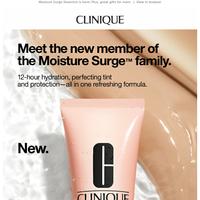 New! Sheer joy for skin.