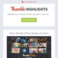 This week at Humble: May's Humble Choice games are here, Star Wars Day sale, and Warhammer week!