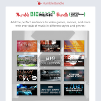Get a big bundle of music for your games, films, and more!