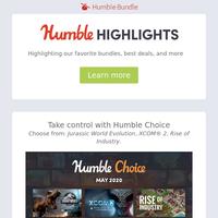 This week at Humble: Spring Sales, Free Game, & more!