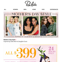 ☆ Celeb-Inspired Mother's Day Style ☆ $399 Luxe Shoes to Accessories ☆