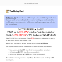 [Today only] Mother's Day special offer!