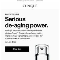 Our top de-aging serum.