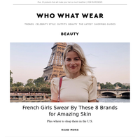 French girls swear by these 8 brands for amazing skin