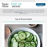 Top 10 Picnic Salads