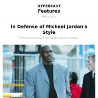In Defense of Michael Jordan's Style