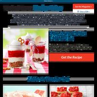 Strawberry Pretzel Dessert Jars
