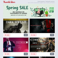 Even more Spring Sale deals added from Konami, Bandai Namco, WB Games, and more!