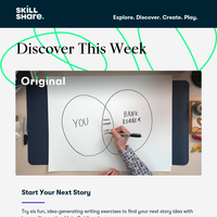 Discover Now: Creative Writing Exercises, Pattern Design, and More!