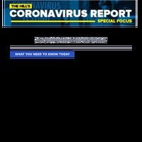 CORONAVIRUS REPORT: Secretary Mnuchin, Fed Chair Powell testify before Senate panel on pandemic response programs   President Trump has been taking unproven preventive drug for 'a couple of weeks'   Pelosi says it's a bad idea, calls Trump 'm