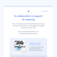 Get inspired with the Wistia Creative Alliance 📺