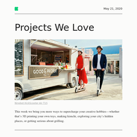 Projects We Love: Scoot around your city