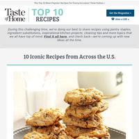 10 Iconic Recipes from Across the U.S.