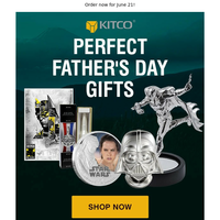 Unique Father's Day gifts, no minimums