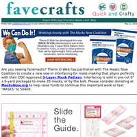 Love to Sew? DIY Face Masks + Helpful Quilting Guidelines