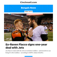 Bengals News:Joe Flacco signs one-year deal with New York Jets