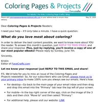 What do you love most about coloring?