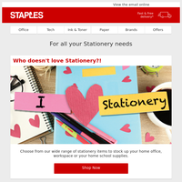 Do you love stationery as much as we do?