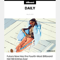 Future Now Has the Fourth-Most Billboard Hot 100 Entries Ever