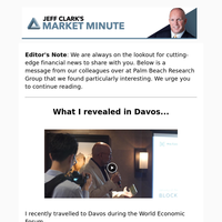 What I revealed in Davos (private)