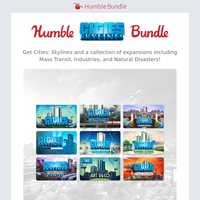 Go from humble town to bustling metropolis with our Cities: Skylines bundle! 🏙️