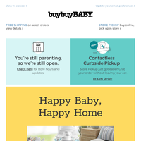 Your baby will *love* these safe spots