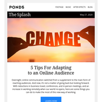 Adapting to an Online Audience