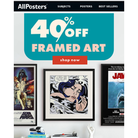 All the art prints you love