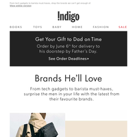 Brands He'll Love – Rains, Jack Black, Herschel Supply Co. And More