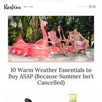 10 essentials for the best summer ever